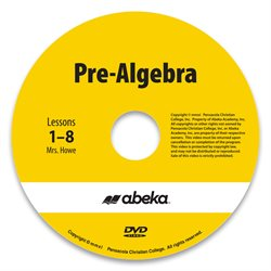Pre-Algebra DVD Monthly Rental