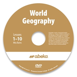 World Geography DVD Monthly Rental