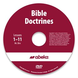 Bible Doctrines DVD Monthly Rental