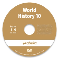 World History 10 DVD Monthly Rental