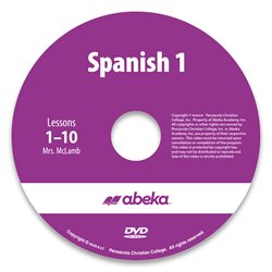 Spanish 1 DVD Monthly Rental