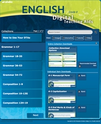 English 8 Digital Teaching Aids—New