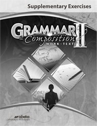 Grammar and Composition II Supplementary Exercises—New