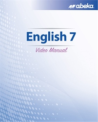 English 7 Video Manual