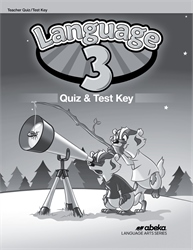 Language 3 Quiz and Test Key—Revised