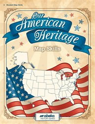 Our American Heritage Map Skills Book—Revised