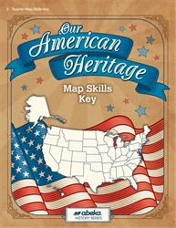 Our American Heritage Map Skills Key—Revised