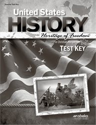 United States History: Heritage of Freedom Test Key—Revised