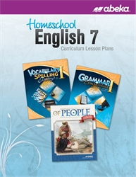 Homeschool English 7 Curriculum Lesson Plans