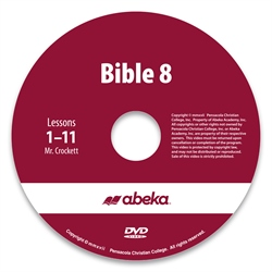 Bible 8 DVD Monthly Rental—Revised Course