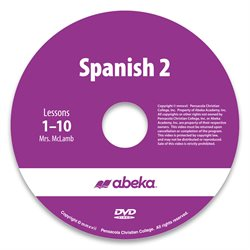 Spanish 2 DVD Monthly Rental—Revised Course