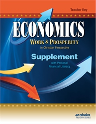 Economics Supplement with Personal Financial Literacy Teacher Key—New