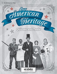 Our American Heritage Quiz and Test Book  (Unbound)
