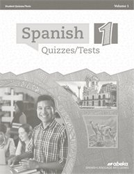 Spanish 1 Quiz and Test Book Volume 1—New