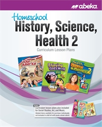 Homeschool History, Science, and Health 2 Curriculum Lesson Plans—New