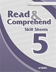 Read and Comprehend 5 Skill Sheets  (Unbound)