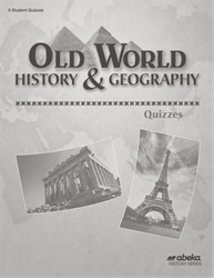 Old World History and Geography Quiz Book  (Unbound)