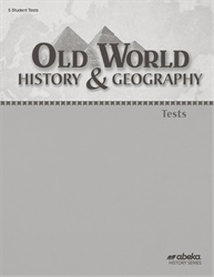 Old World History and Geography Test Book