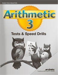Arithmetic 3 Quizzes, Tests, and Speed Drills—Revised