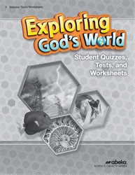 Exploring God's World Quiz, Test, and Worksheet Book—Revised