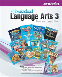Homeschool Language Arts 3 Curriculum Lesson Plans