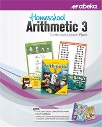 Homeschool Arithmetic 3 Curriculum Lesson Plans—Revised