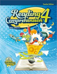 Reading Comprehension 4 Skill Sheets Teacher Edition—New