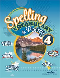 Spelling, Vocabulary, and Poetry 4—Revised