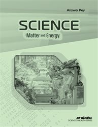 Science: Matter and Energy Answer Key—Revised