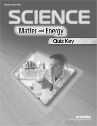 Science: Matter and Energy Quiz Key—Revised