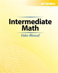 Intermediate Math Video Manual—New