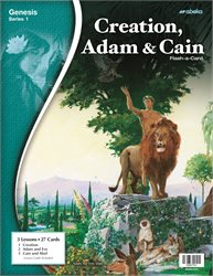Creation, Adam, and Cain Flash-a-Card—Revised