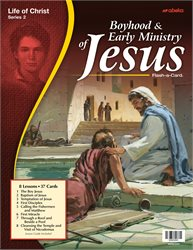 Boyhood and Early Ministry of Jesus Flash-a-Card—Revised