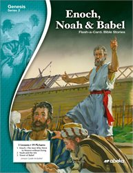 Enoch, Noah, and Babel Flash-a-Card Bible Stories—Revised