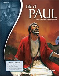 Life of Paul Series 1 Flash-a-Card Bible Stories—Revised