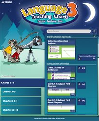 Language 3 Teaching Charts Digital Teaching Aids—New