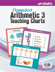 Homeschool Arithmetic 3 Teaching Charts—New