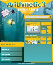 Arithmetic 3 Teaching Charts Digital Teaching Aids—New