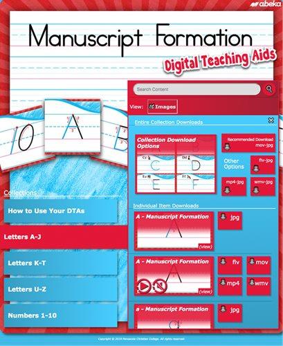 Manuscript Formation