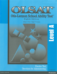 OLSAT Practice Test Directions—Level A
