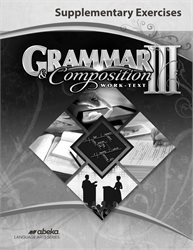 Grammar and Composition III Supplementary Exercises—New