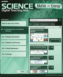 Science: Matter and Energy Digital Teaching Aids—Revised