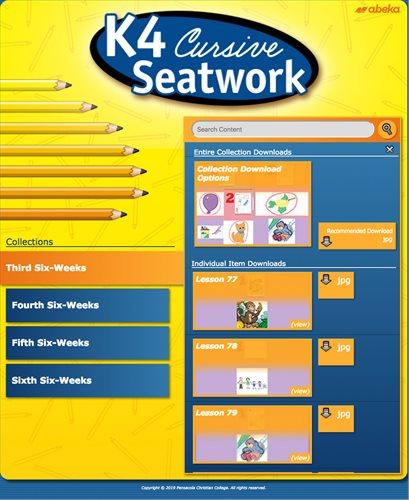 K4 Seatwork