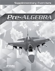 Pre-Algebra Supplementary Exercises—New