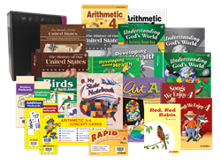 Grade 4 Arithmetic, History, Science, Health, Art, and Music Teacher Kit