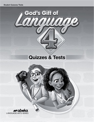 God's Gift of Language 4 Quiz and Test Book—New