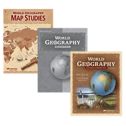 World Geography Homeschool Student Kit