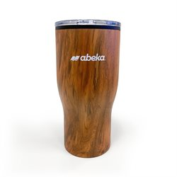 Challenger Travel Mug with Wood Finish