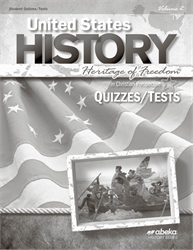 United States History: Heritage of Freedom Quiz and Test Book Volume 2—Revised