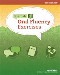 Spanish 1 Oral Fluency Exercises Key